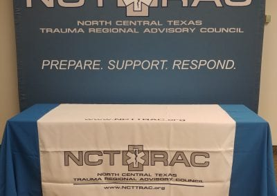 Large Stand Up NCTTRAC Sign